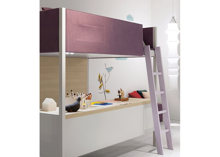 Nidi Camelot Bunk Bed with Desk & Modern Bunk Beds online at MOOD