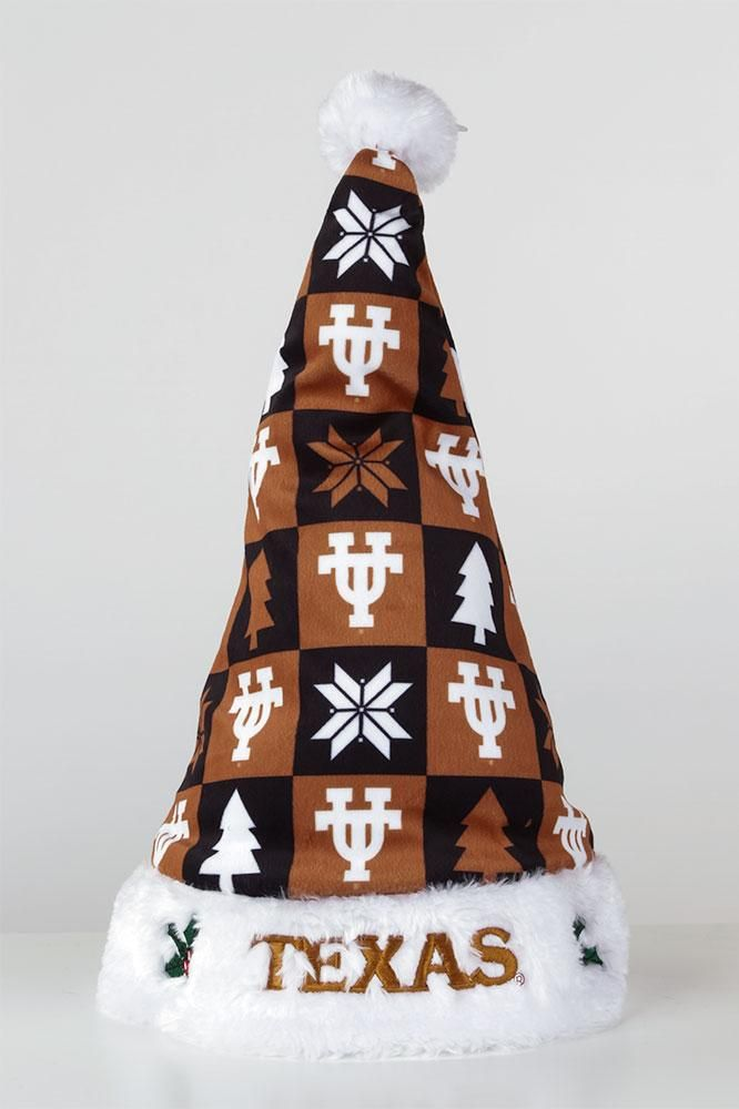 Add a twist to your holiday outfit! Try our Texas Longhorns Christmas cap. Show your Texas pride this winter season in a Burnt Orange Santa hat. Buy Now!