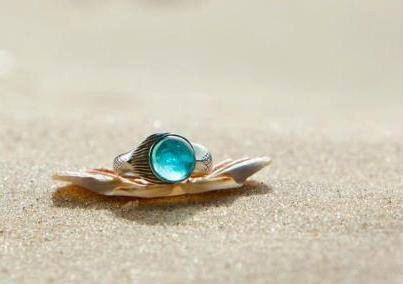NEW Mako Mermaid Ring Sterling Silver ring. via Etsy.
