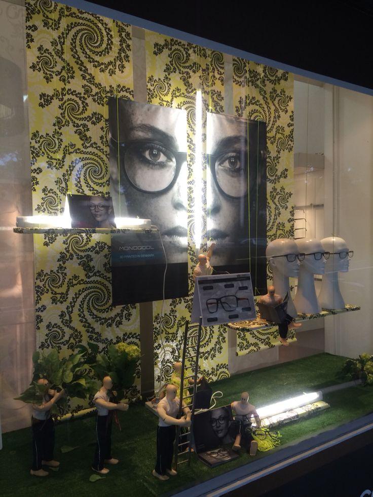 "EPSOM EYEWEAR,Epsom, Auckland,New Zealand, ""MONOQOOL EYEWEAR 3D PRINTED IN DENMARK"", created by Ton van der Veer"