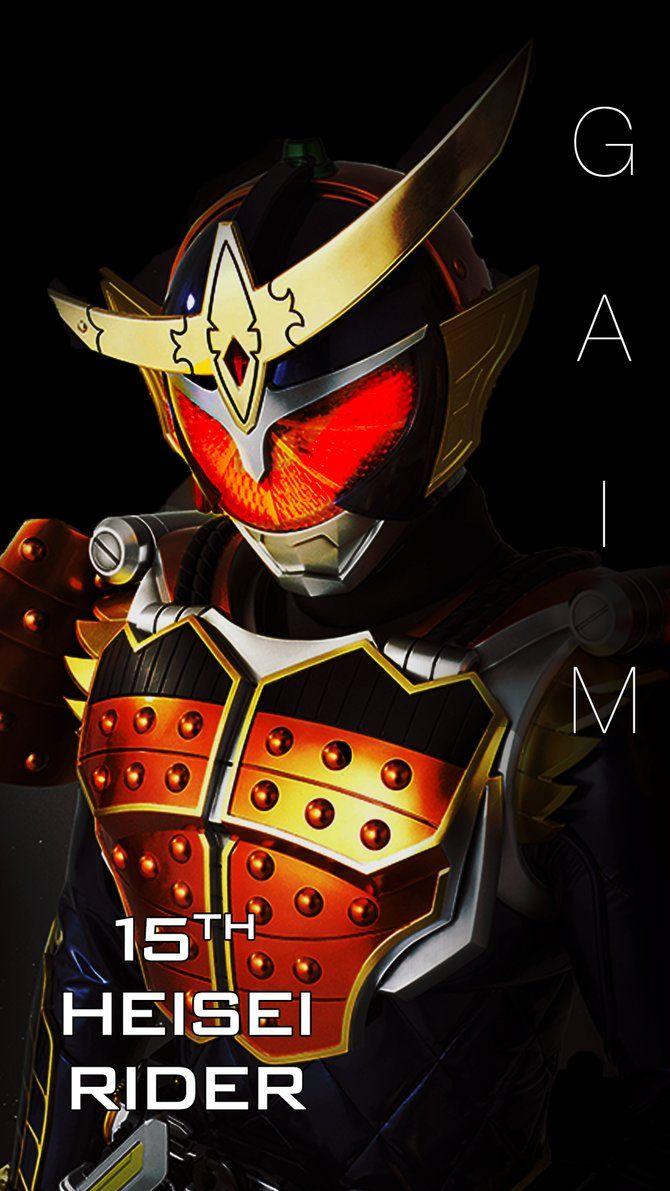 Kamen Rider Gaim Smart Phone Wallpaper By Phonenumber123 仮面