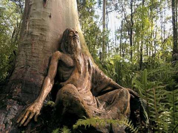Charming Over 150 Wooden Sculptures Are Located In Brunou0027s Sculpture Garden In  Melbourne Australia. Over 150 Wooden Sculptures Are Located In Brunou0027s  Sculpture ...