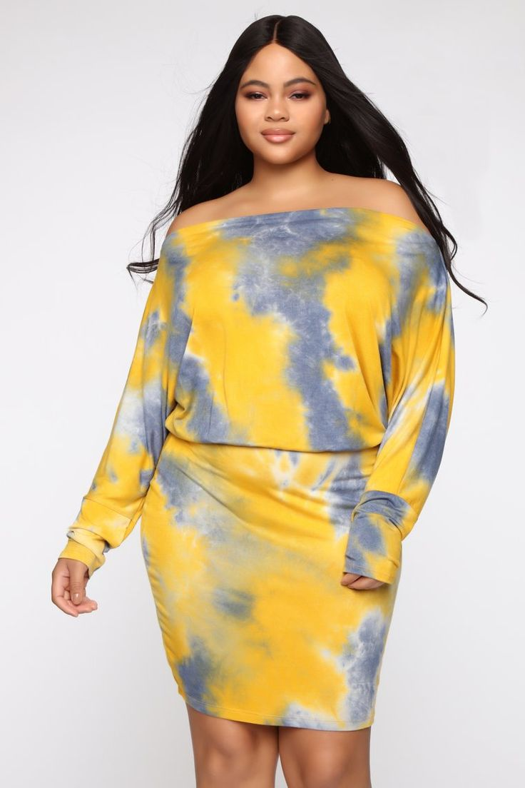 Dolman Daze Tie Dye Mini Dress in 2020