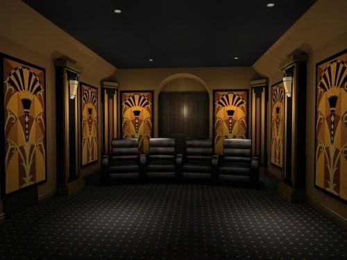Modern Home Theater Design