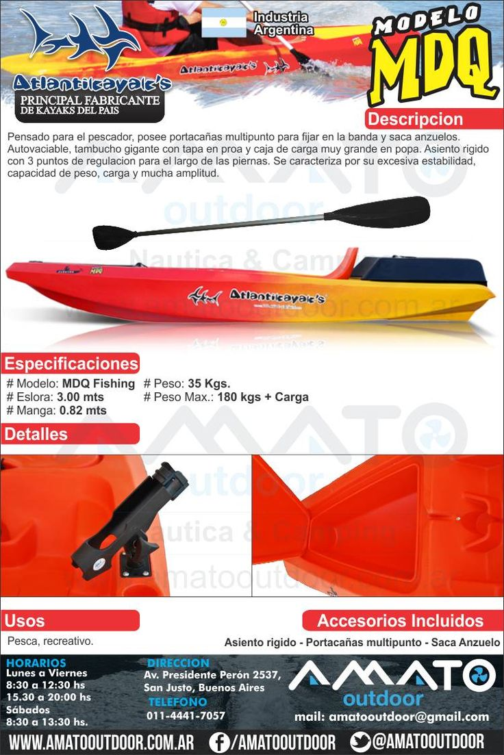Kayak Atlantikayak MDQ - Conseguilos en Amato Outdoor