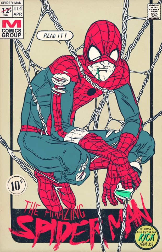 Spider Man #illustration #comic #superhero #geeky