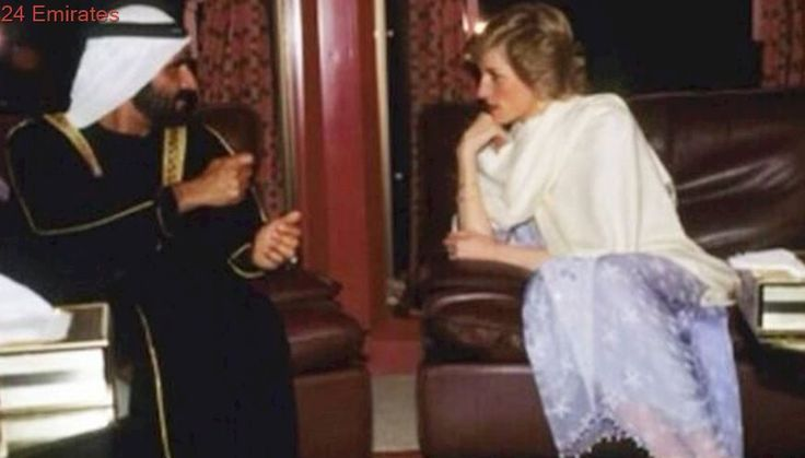 Flashback: When Sheikh Mohammed met Princess Diana