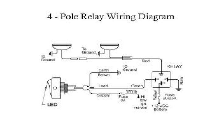 Fog Light Wiring Diagram with Relay | FORD EXPLORER 1998
