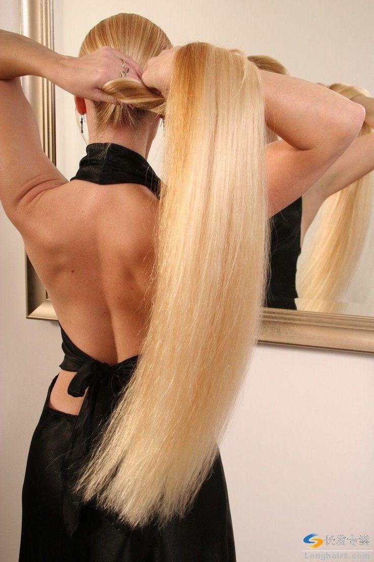 Cute french short blowjob and hairjob, long hair, hair