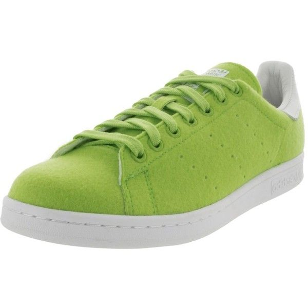 Adidas Adidas Men's Pw Stan Smith Tns Originals Casual Shoe |... ($125) ❤ liked on Polyvore featuring men's fashion, men's shoes, men's sneakers, green and shoes