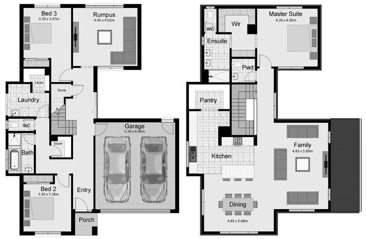 21 Best Reverse Living House Plans Images On Pinterest