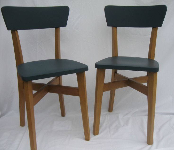 chaises bistrot annes 50 relookes - Modele De Cuisine A Vendre Annee 50
