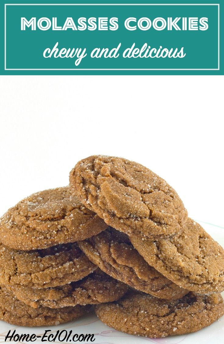 Molasses Cookies | Recipe | Molasses cookies, Cookies and ...