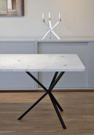 No Early Birds Rectangular Table Marble   Artilleriet   Inredning Göteborg