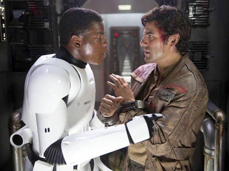 The Finn-Poe Gay Romance Is Just in Oscar Isaac's Pretty Head