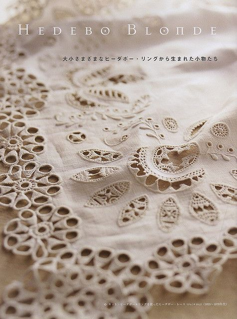 hedeboLinens Lace Silver Beds, Embroidery Needlework, Danishes Hedebo, Hedebo Blondes, Lace Linens, Hedebo Embroidery, Lace Encaje, Beautiful Whitework Embroidery, Hedebo Eyelet