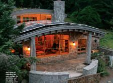 Beautiful Home, Inside And Out. U003eu003e Green Roofed Cannon Beach Home In Oregon  Generates More Energy Than It Uses Cannon Beach Net Zero Home Nathan Good  ...