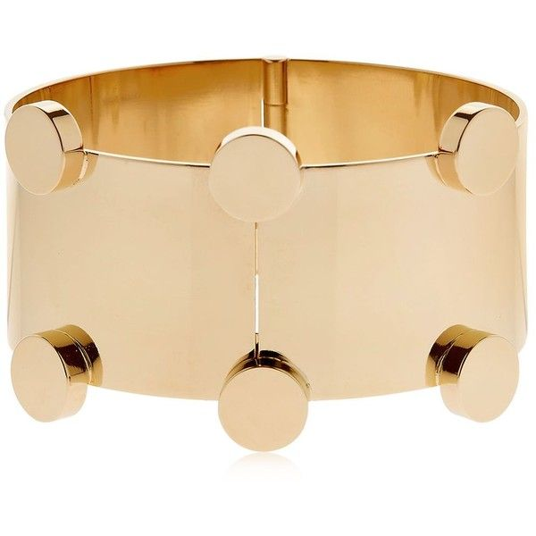Isabel Marant Women Manchette Gold Plated Bracelet (€335) ❤ liked on Polyvore featuring jewelry, bracelets, gold, gold plated jewelry, isabel marant, gold plated jewellery, gold plated bangles and isabel marant jewelry