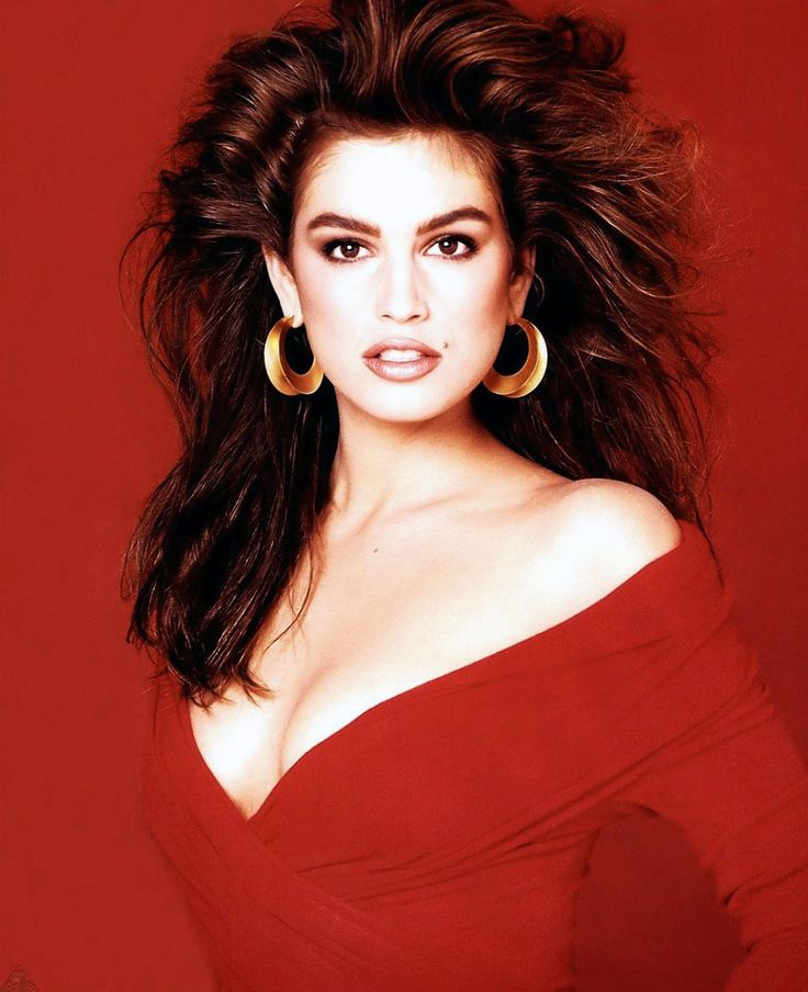 Cindy Crawford by Francesco Scavullo, Cosmopolitan 1988