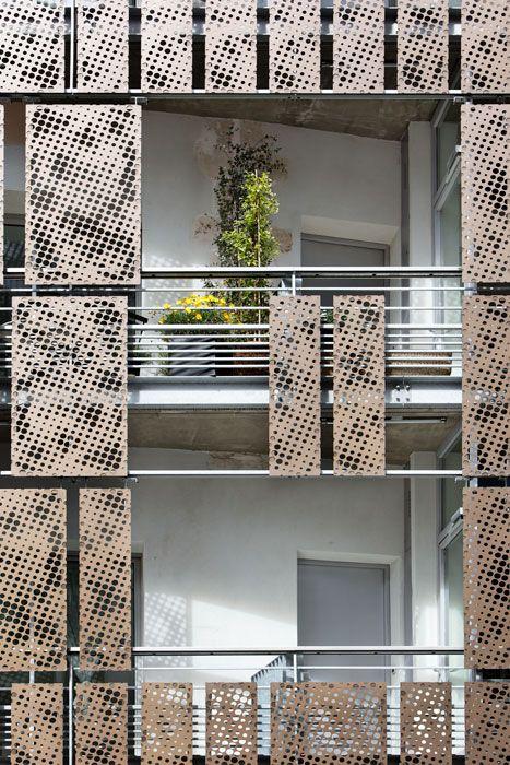 Les 320 meilleures images du tableau mfja sur pinterest for Facade immeuble moderne