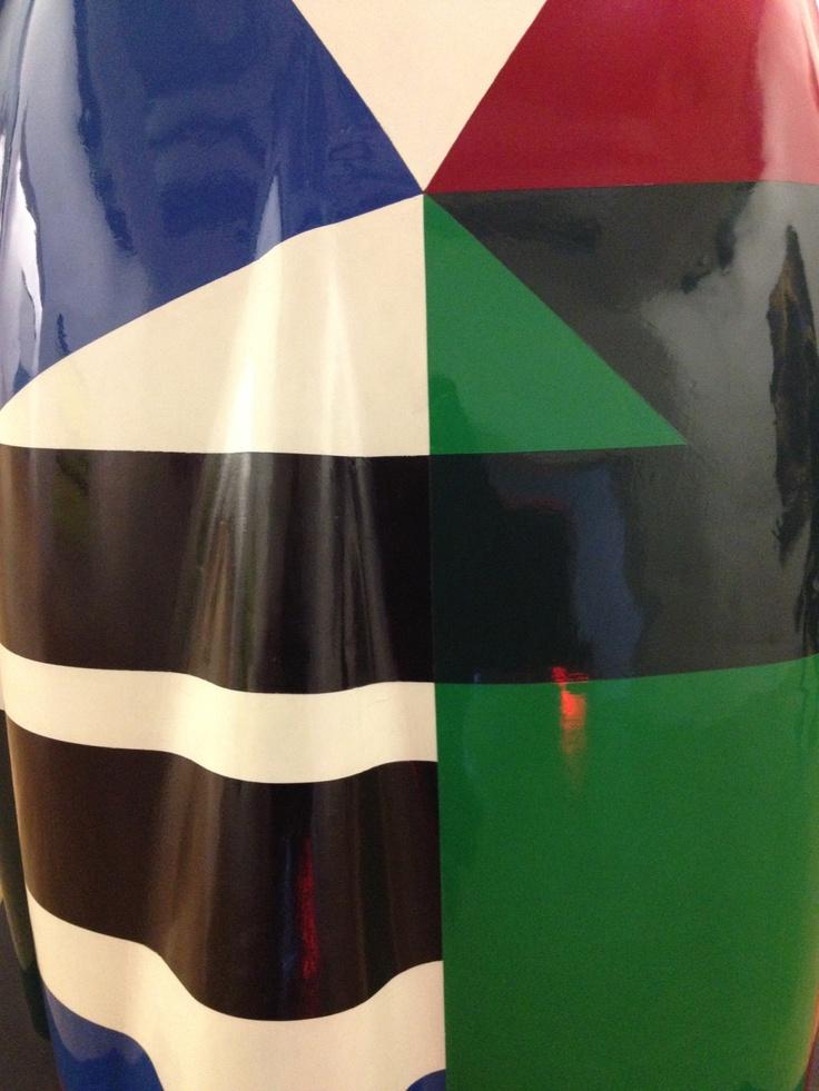 Fuselage de voiture, Beaubourg, expo permanente