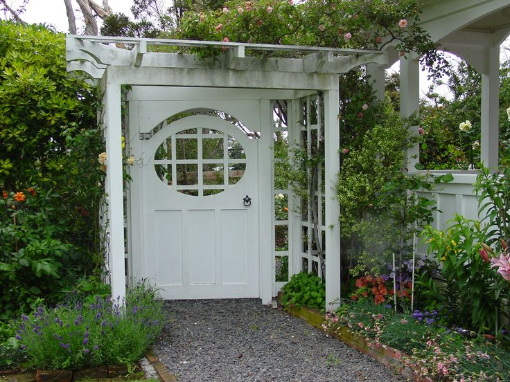Garden Gate Arbors Designs very simple arched arbor plans garden arborgarden gatespainted Find This Pin And More On Garden Gate Arbor Fence