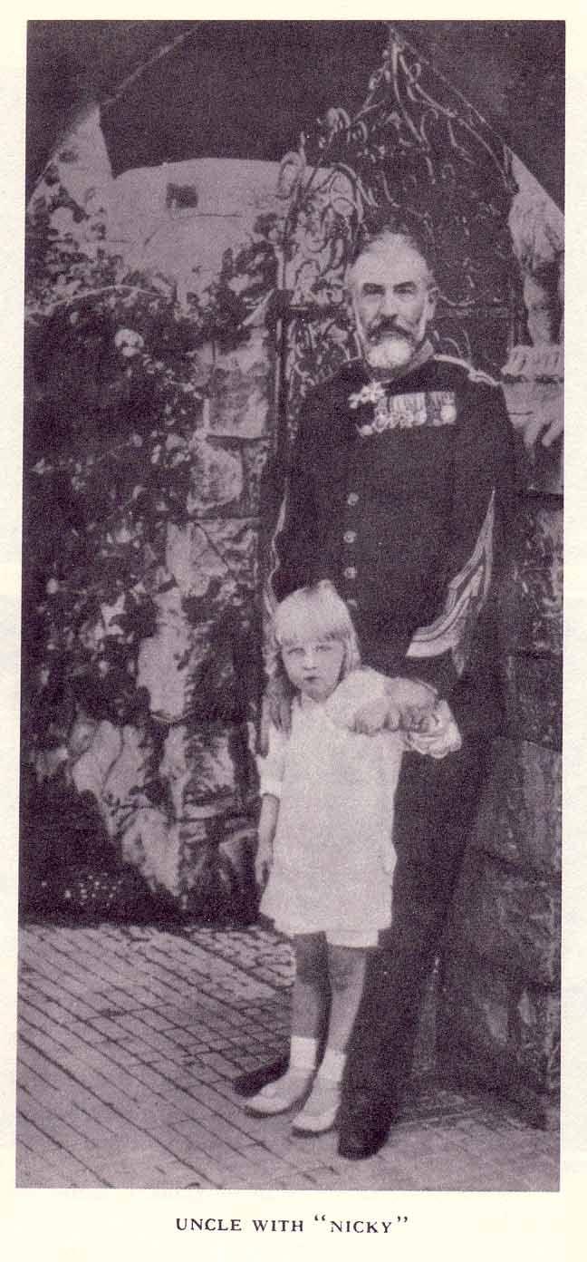 King Carol I and Prince Nikolae (Nicky) of Romania.