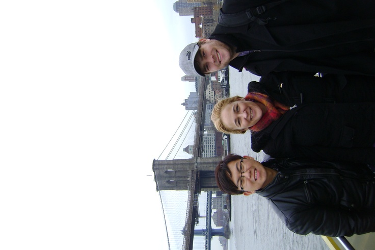 Susan Johnston, Colin Peh and Steve Buskey- We love #NYC