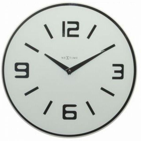 NeXtime Simple Times - Zegar ścienny - Shuwan - biały - 8148 WI - Home-Form.pl  249ZL