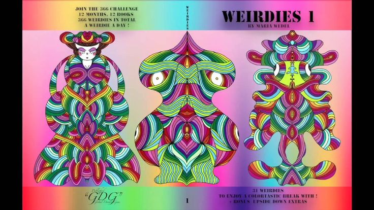 Weirdies 1 Preview