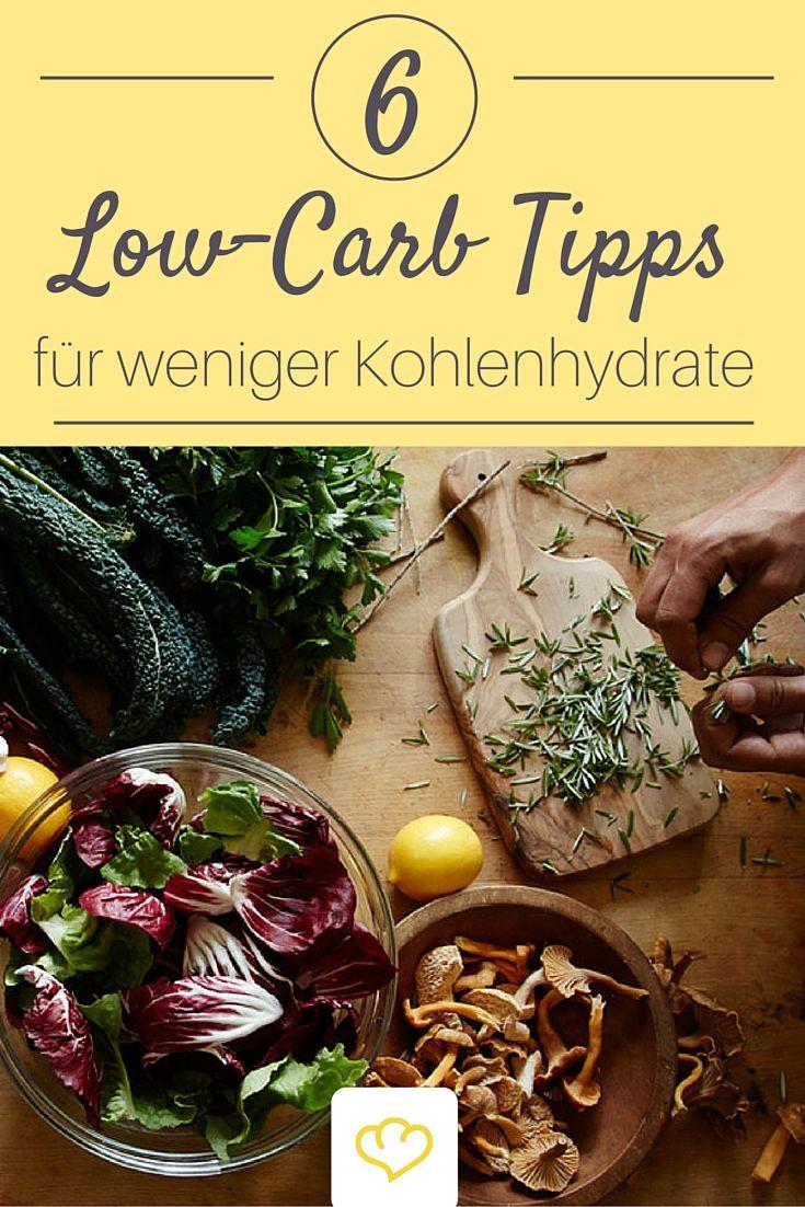 Low Carb: 6 Ernährungstipps für weniger Kohlenhydrate