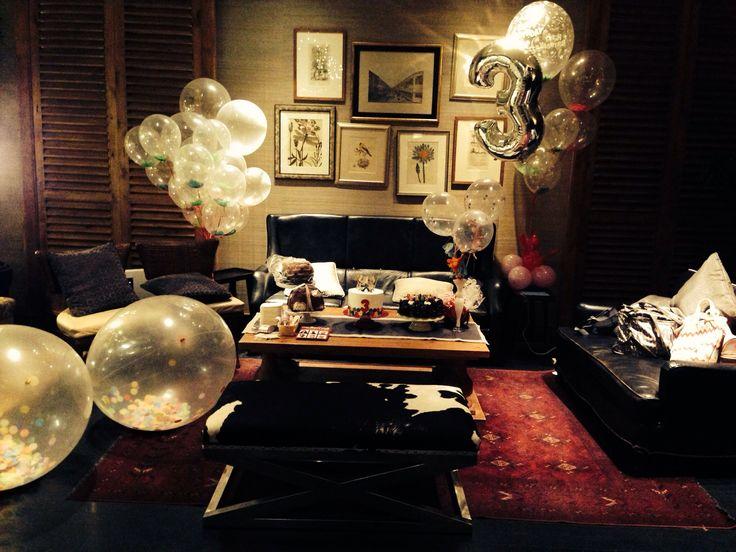 Emilie's bday party @ ninety nine grand indonesia