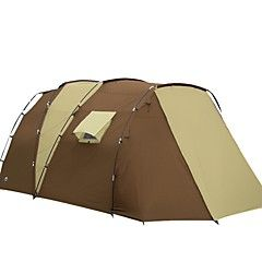 5+a+8+Personas+Doble+Dos+Habitaciones+con+Vestíbulo+Carpa+para+campingCamping+Viaje+–+USD+$+507.98
