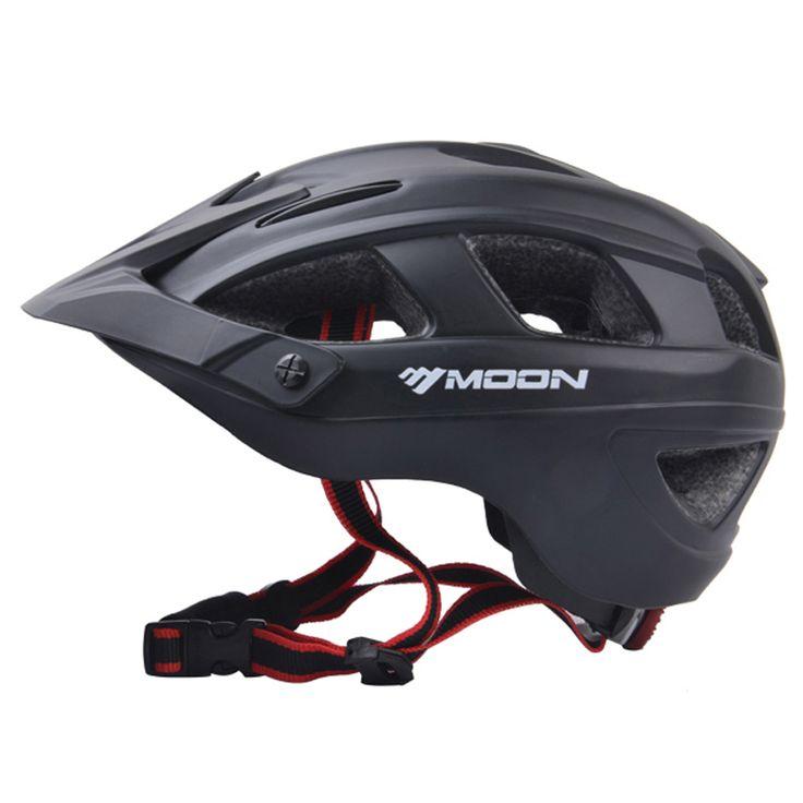 MOON 자전거 헬멧 초경량 자전거 헬멧 카스코 Ciclismo 일체 성형 자전거 헬멧 도로 산악 MTB 헬멧