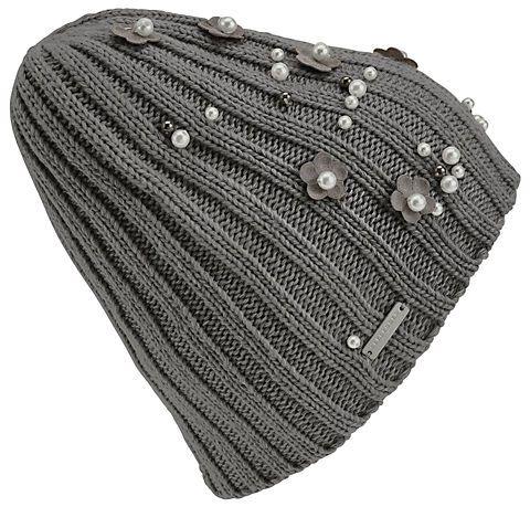 Seeberger Mütze mit Perlendetails in hellgrau im Online Shop von Baur Versand