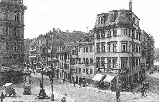Münzgasse 1900.