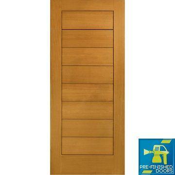 Prefinished Modena External Oak Door #prefinishedexternaldoors #prefinisheddoors