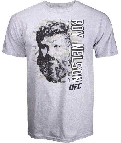 Reebok Roy Nelson Big Country UFC Shirt - Grey - X-Large