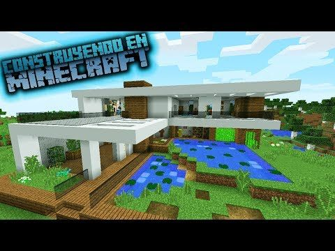 for Tutorial casa moderna grande minecraft
