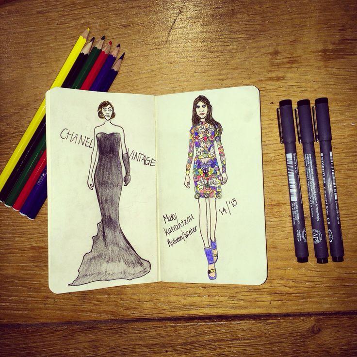 Fashion illustration by MG