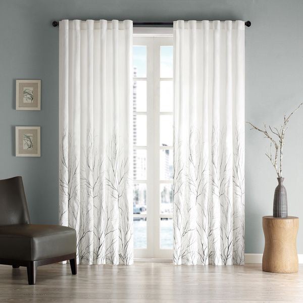madison park eliza faux silk curtain panel overstock shopping great deals on madison park curtains find this pin and more on window