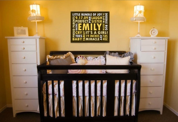 Great gift for baby! 16x20 Print featuring Custom Typography Word Art by TYPOGRFX, $60.00Baby Gift