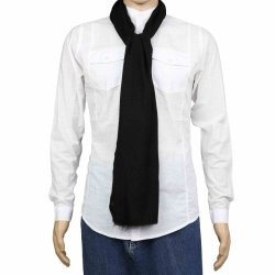 Cashmere Pashmina Black Scarf for Men Dresses Indian Accessories