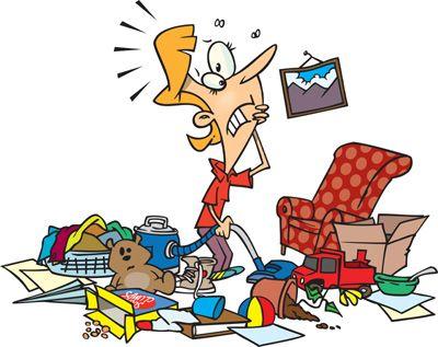 Minder spullen=rust in je hoofd!