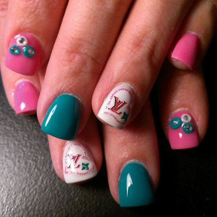54 best Mis Trabajos images on Pinterest | Acrylic nail designs ...