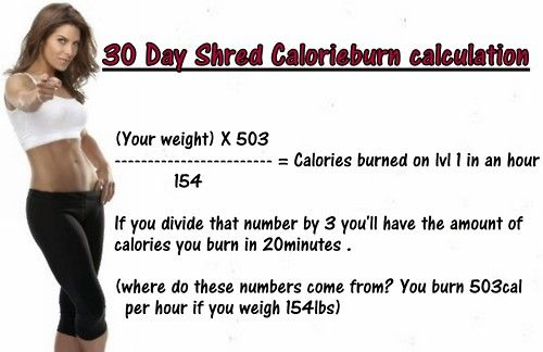 I don't know how sound these calculations are, but they seem legit.  402 cals for me  134 cals in 20mins
