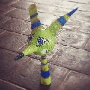 Papermache - Foxrabbit