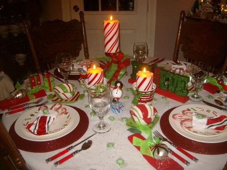 Elegant Christmas Table Decorations using wreathed | Italian Table Setting Ideas Christmas Italian Table Setting & 30 best Rustic Christmas table images on Pinterest | Christmas ideas ...