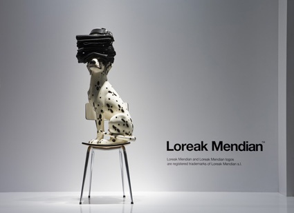 Loreak Mendian window display by Ja! design Studio / via Loreak Mendian flickr