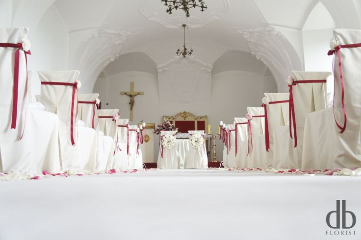 Wedding arrangement in Książ Castle